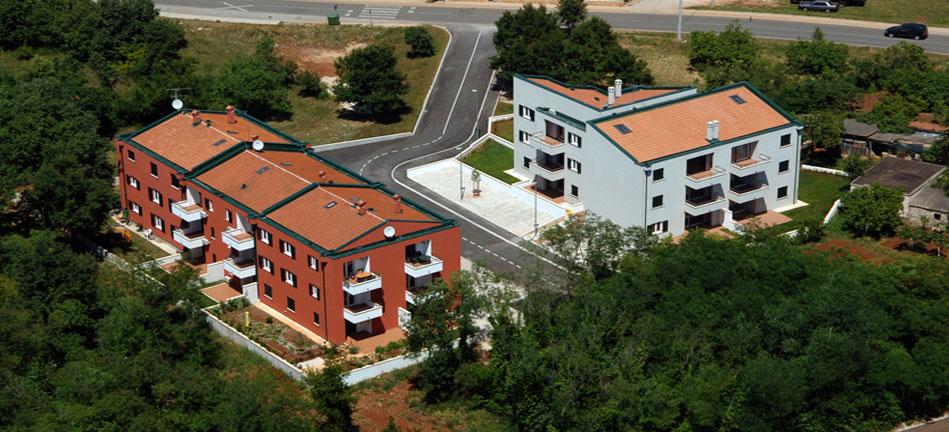 Vlastita investicija – izrada kompletne projektne dokumnentacije, vođenje projekta i prodaje - stambeno naselje Križine